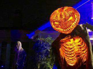 Pumpkin demon