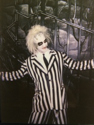 Playing Beetlejuice at Universal Studios: 1990 Orlando, 1994 Los Angeles