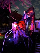 skull-spider and Mega pumpkin demon